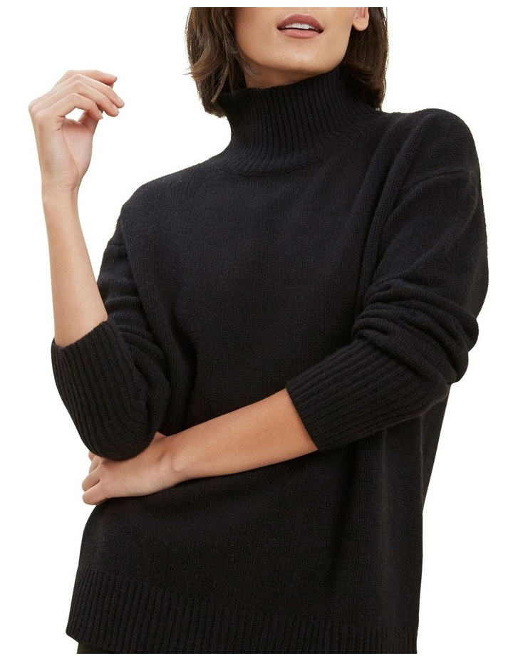 High Neck Wool Sweater image 4