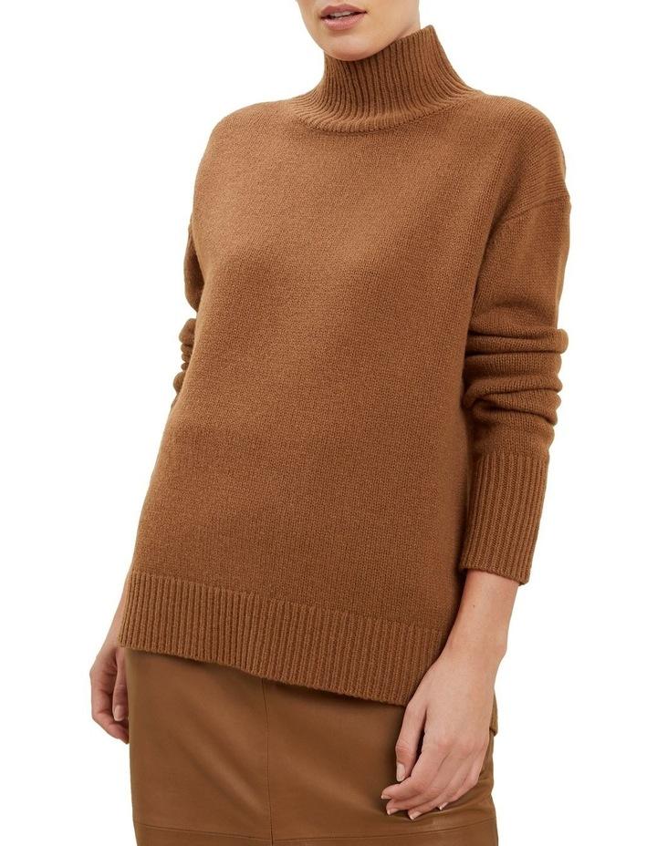High Neck Wool Sweater image 1