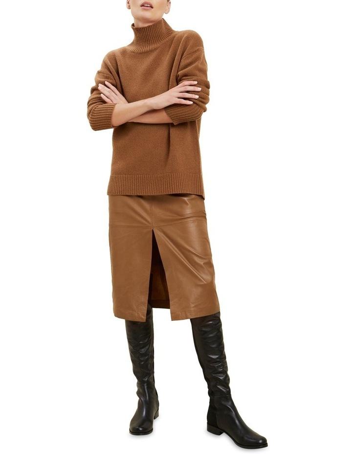 High Neck Wool Sweater image 2