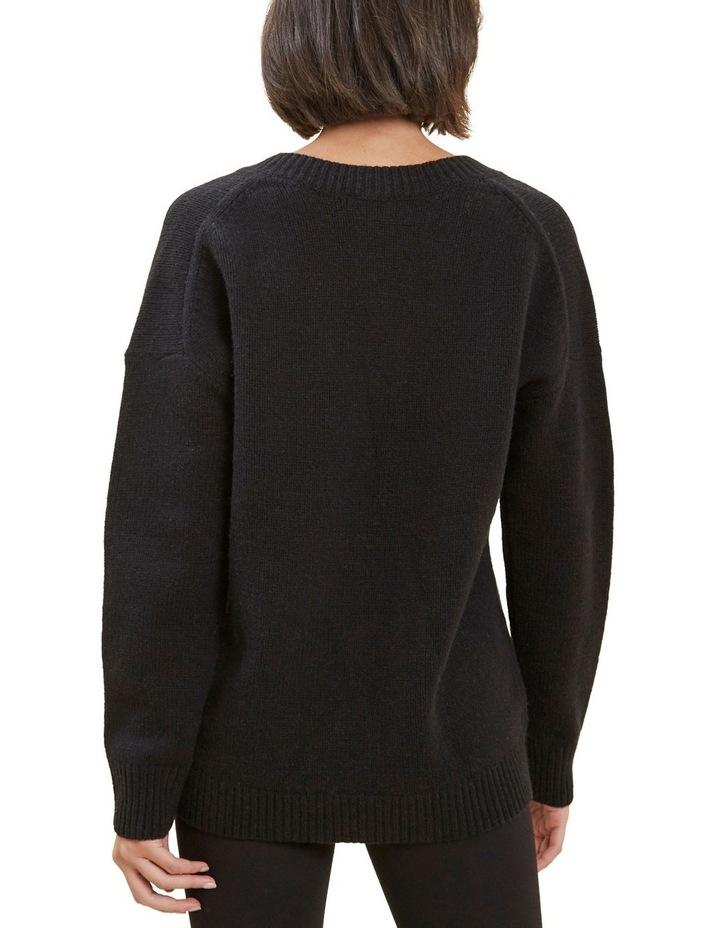 V Neck Wool Sweater image 3