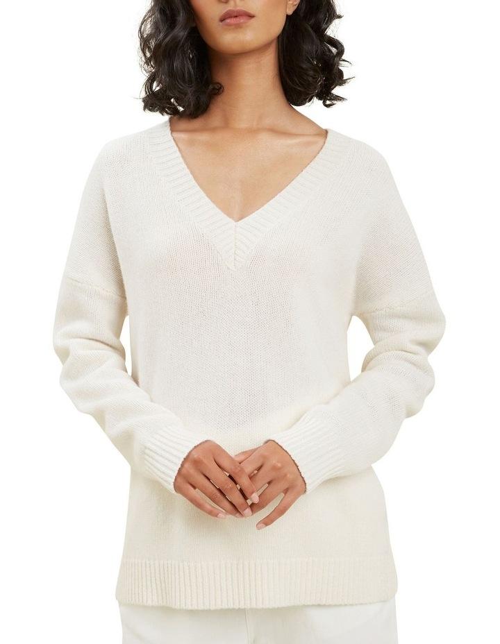V Neck Wool Sweater image 4