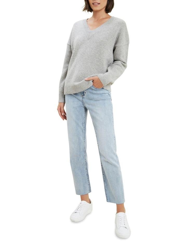 V Neck Wool Sweater image 2