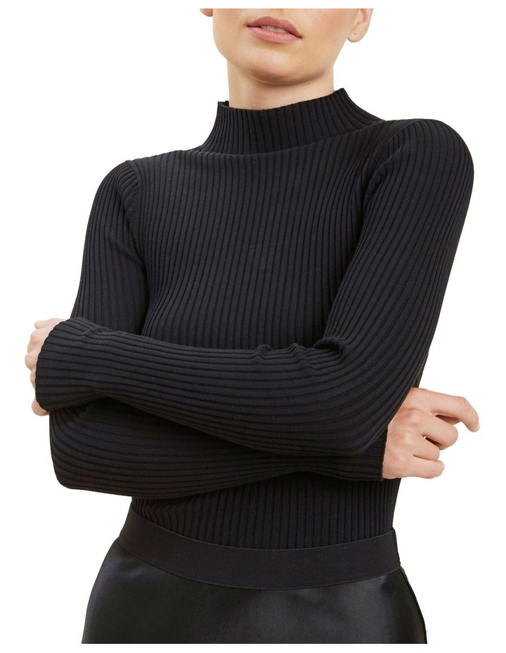 Fitted Rib Sweater image 1