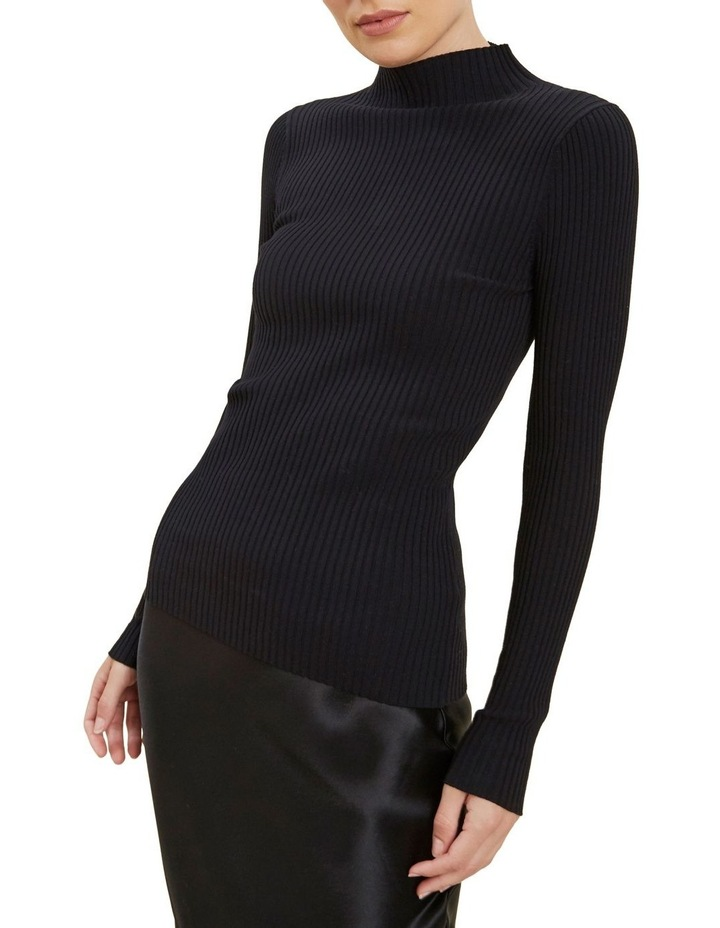 Fitted Rib Sweater image 4