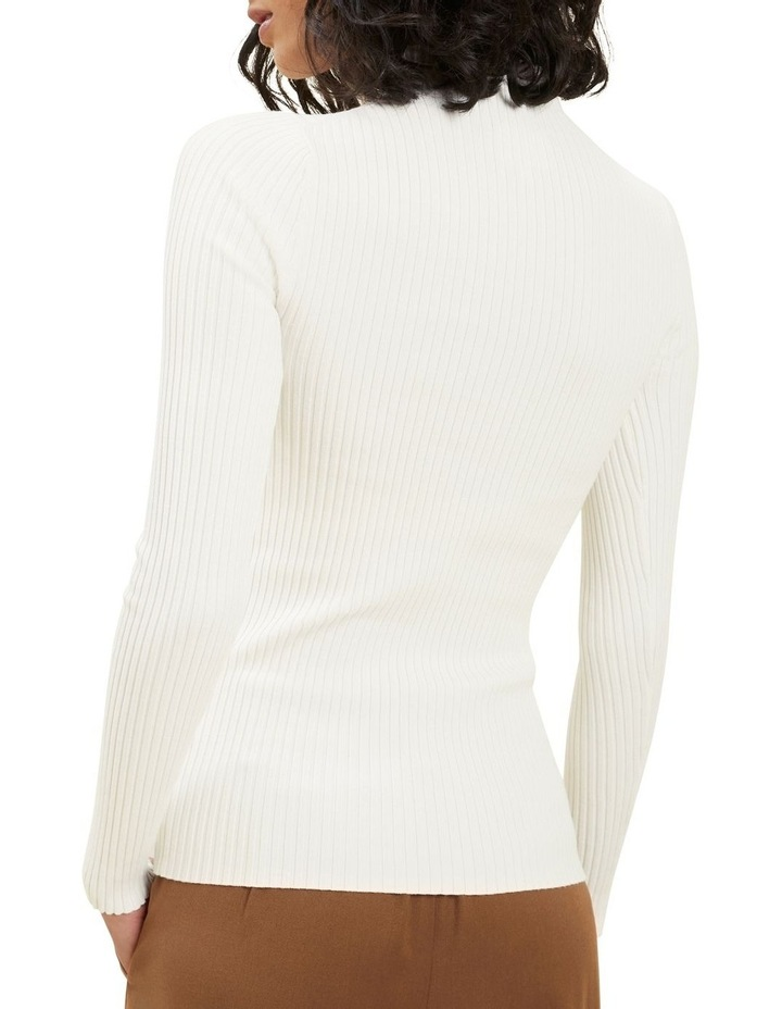 Fitted Rib Sweater image 3
