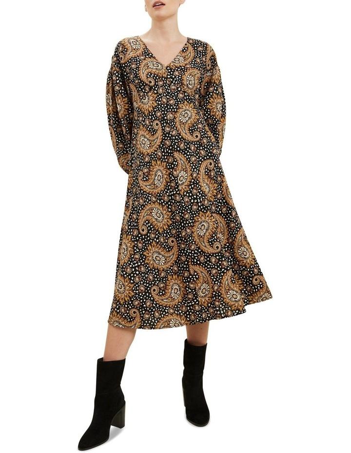 Paisley Midi Dress image 1