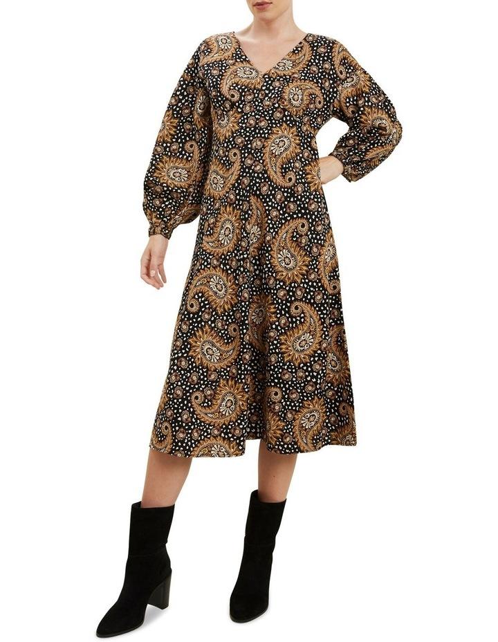 Paisley Midi Dress image 2