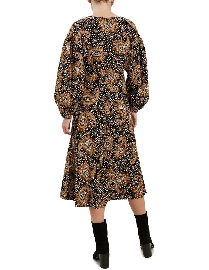 Paisley Midi Dress image 3