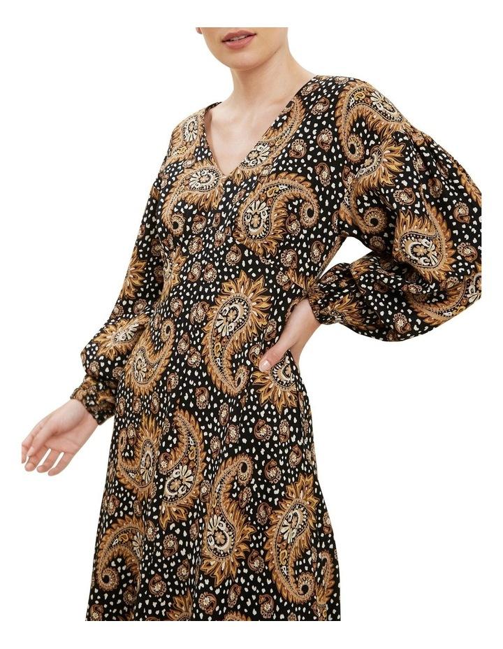 Paisley Midi Dress image 4