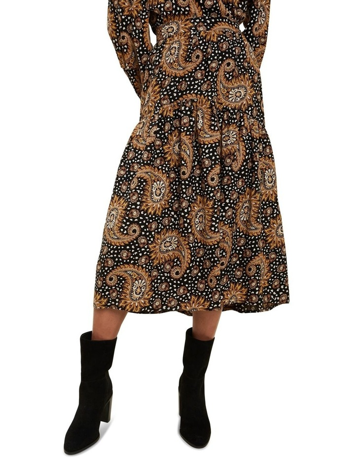 Paisley Tiered Skirt image 1