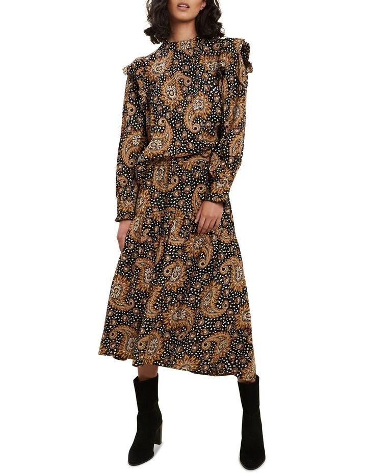 Paisley Tiered Skirt image 2