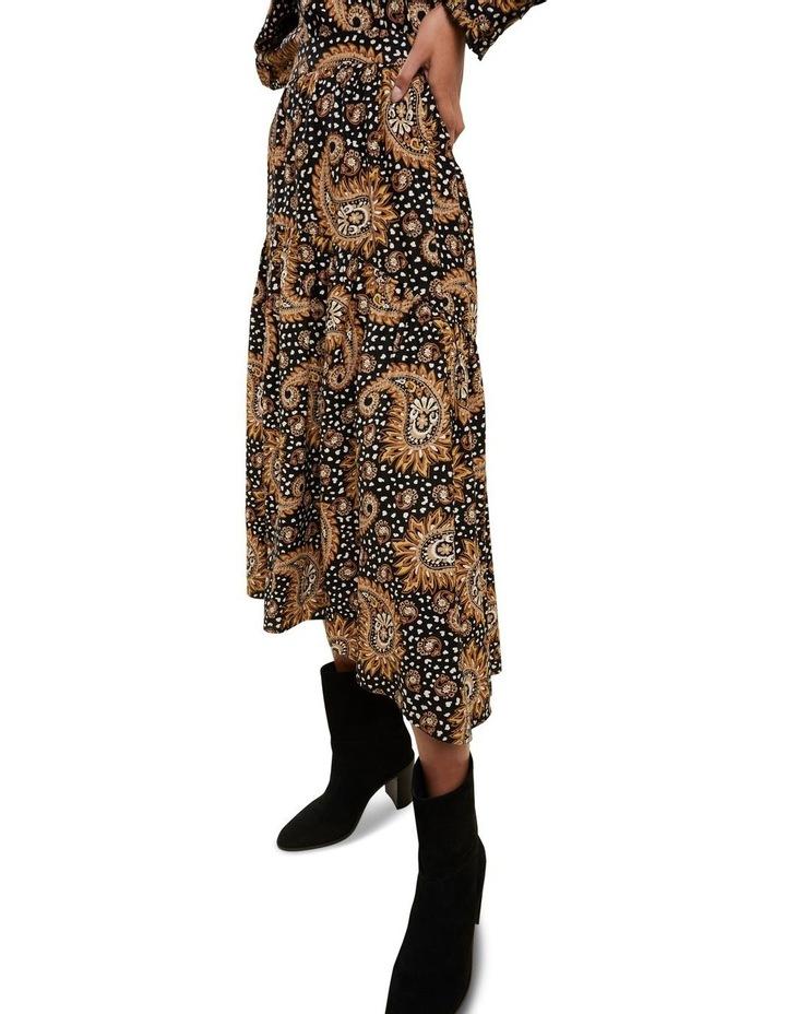 Paisley Tiered Skirt image 4