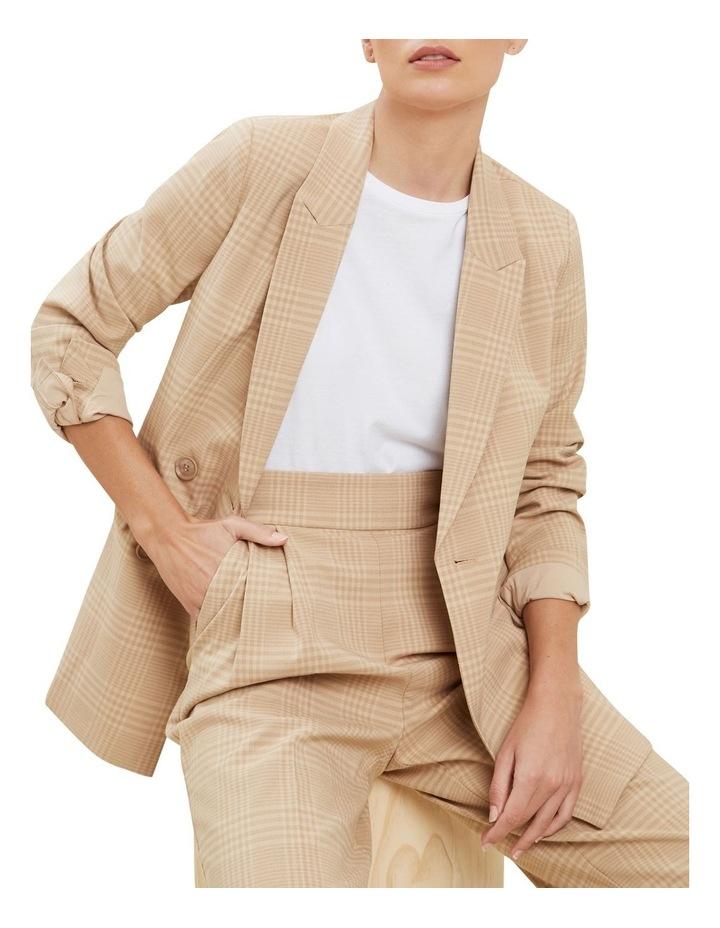 Plaid Suit Blazer image 1