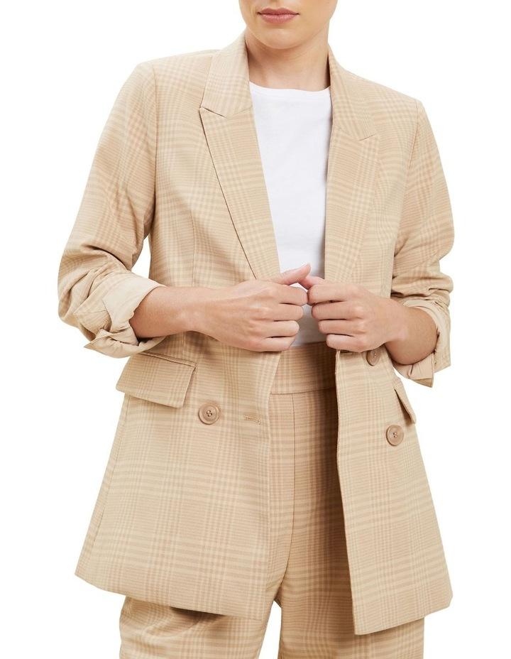 Plaid Suit Blazer image 5