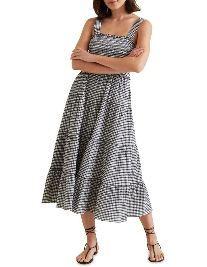 Gingham Midi Dress image 1