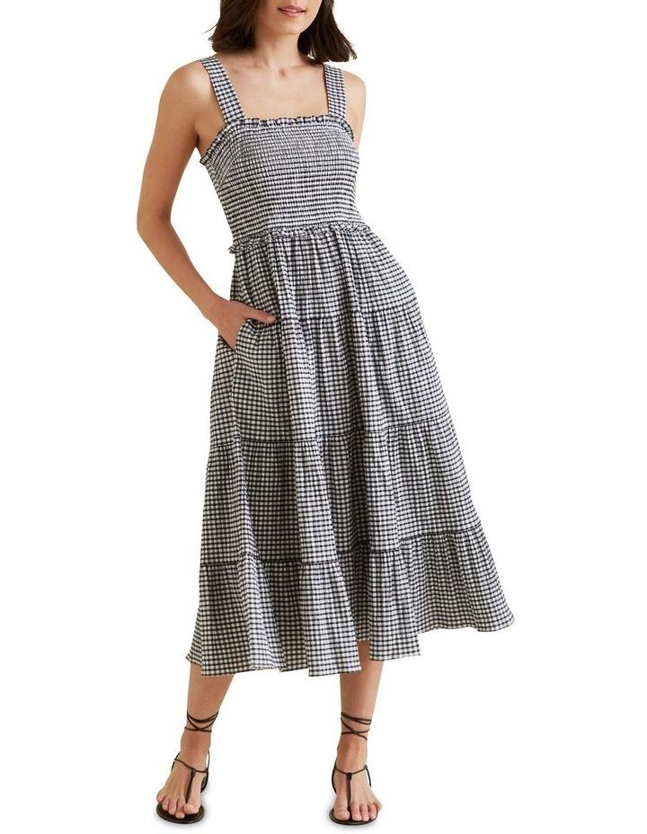 Gingham Midi Dress image 2