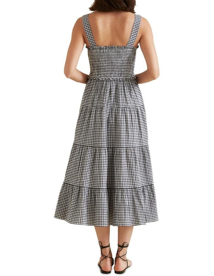 Gingham Midi Dress image 3