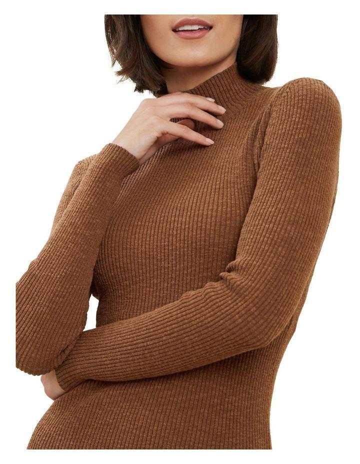 High Neck Rib Sweater image 3