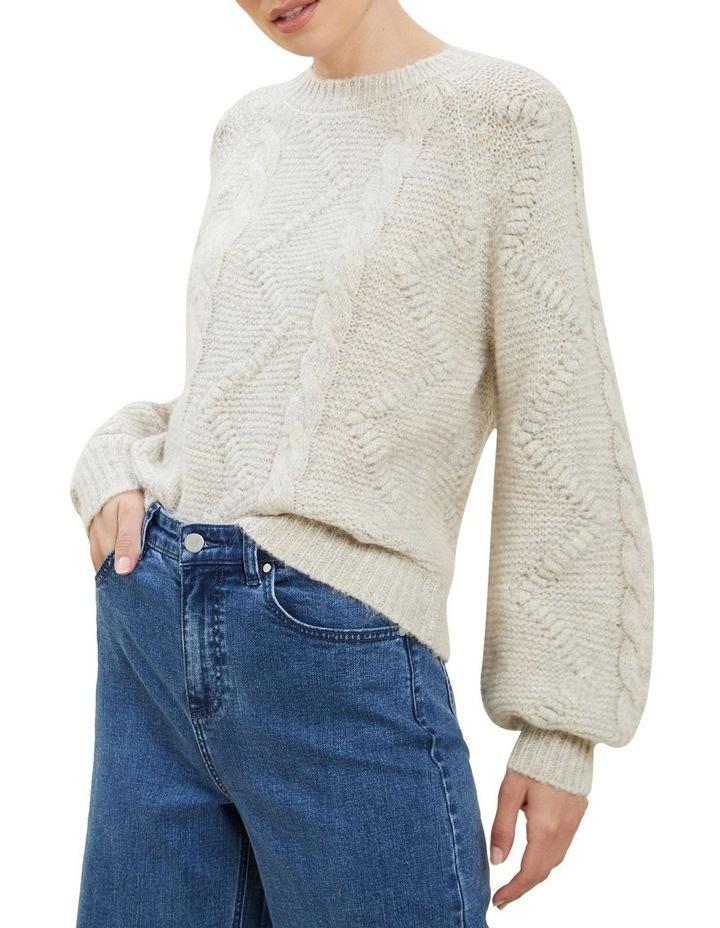Pom Pom Mohair Sweater image 1