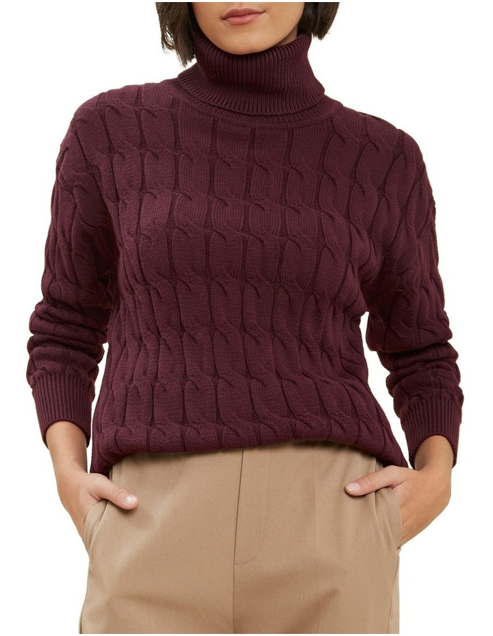 Cable Knit Sweater image 1