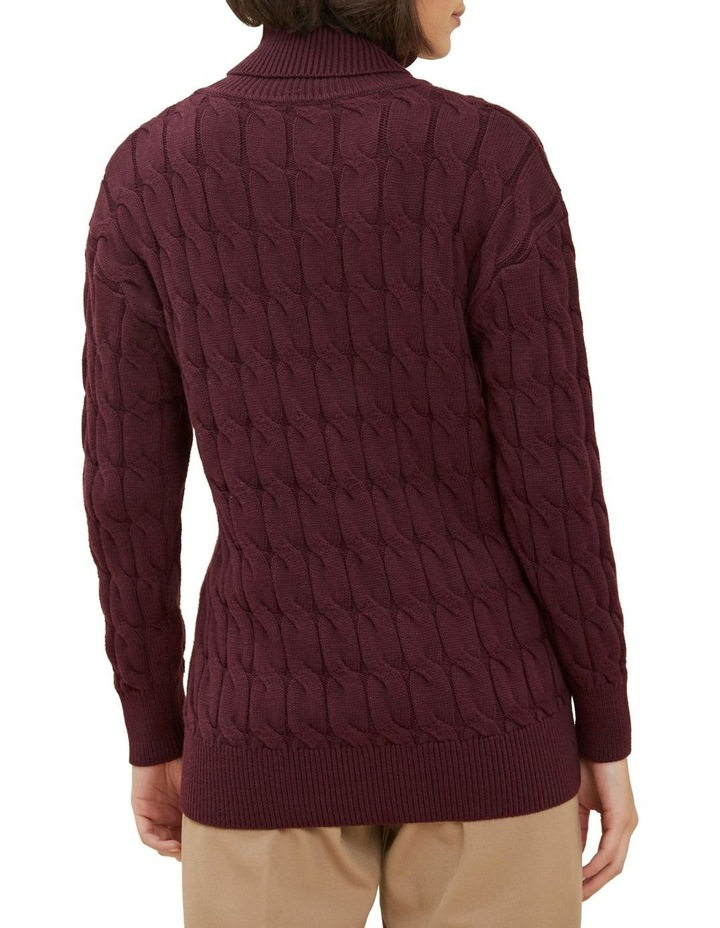 Cable Knit Sweater image 3