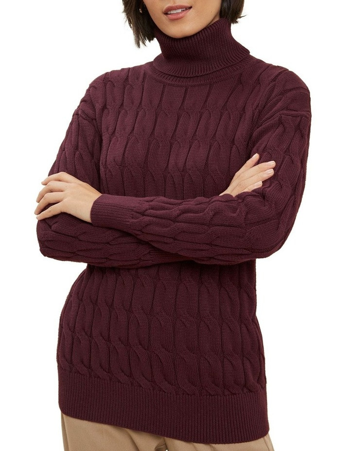 Cable Knit Sweater image 4