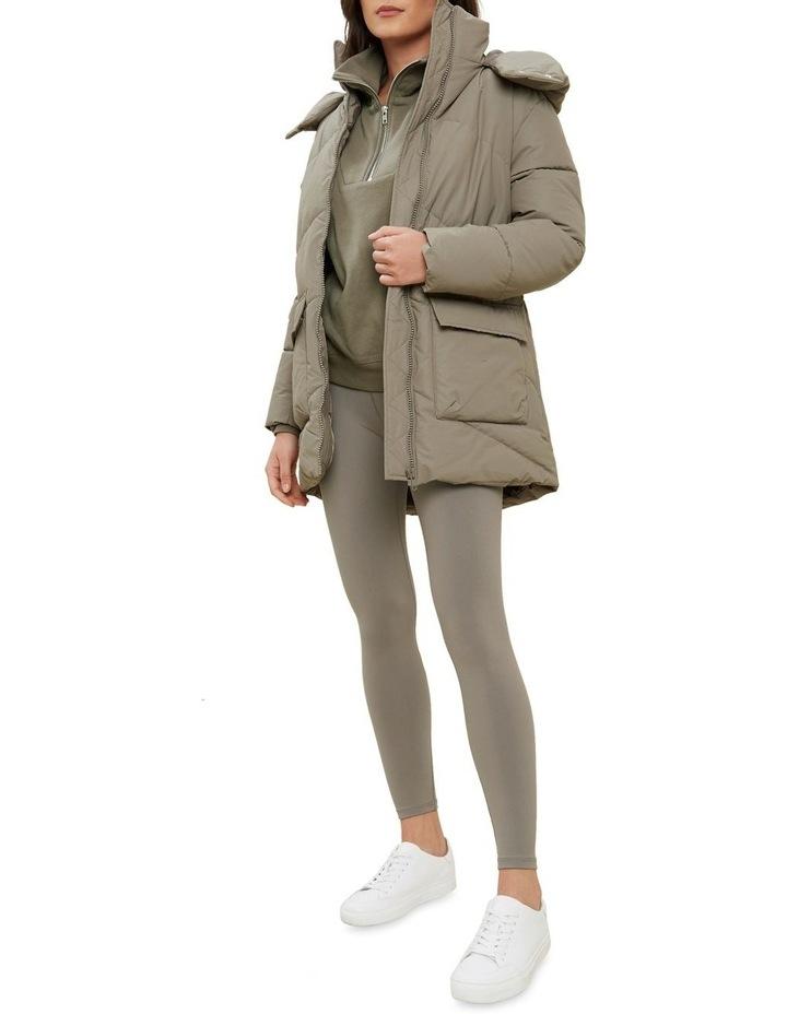 Mid Length Puffer Jacket image 2