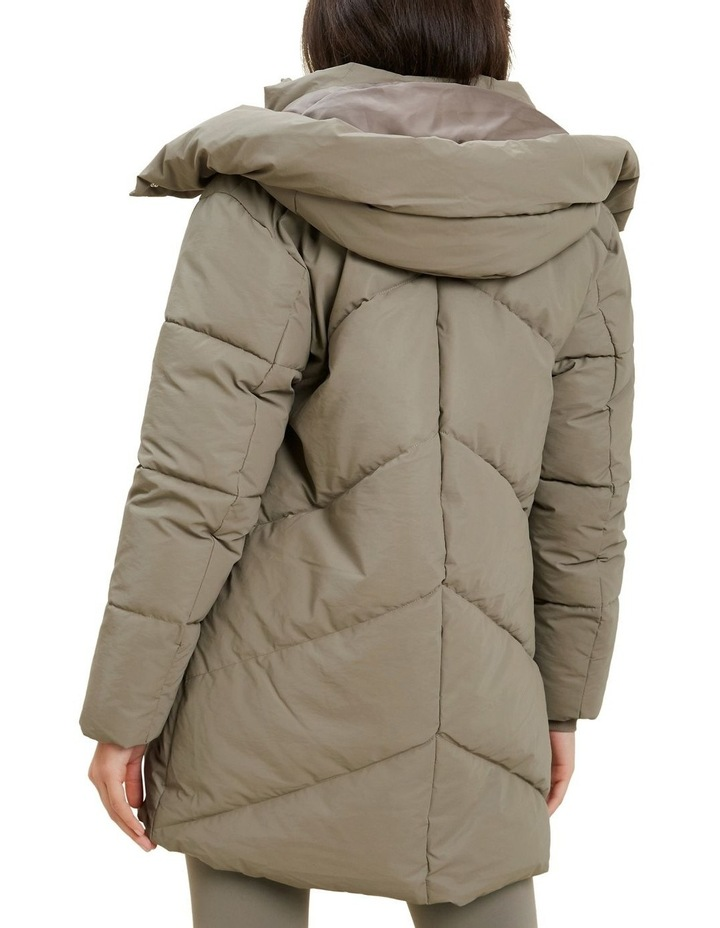 Mid Length Puffer Jacket image 3