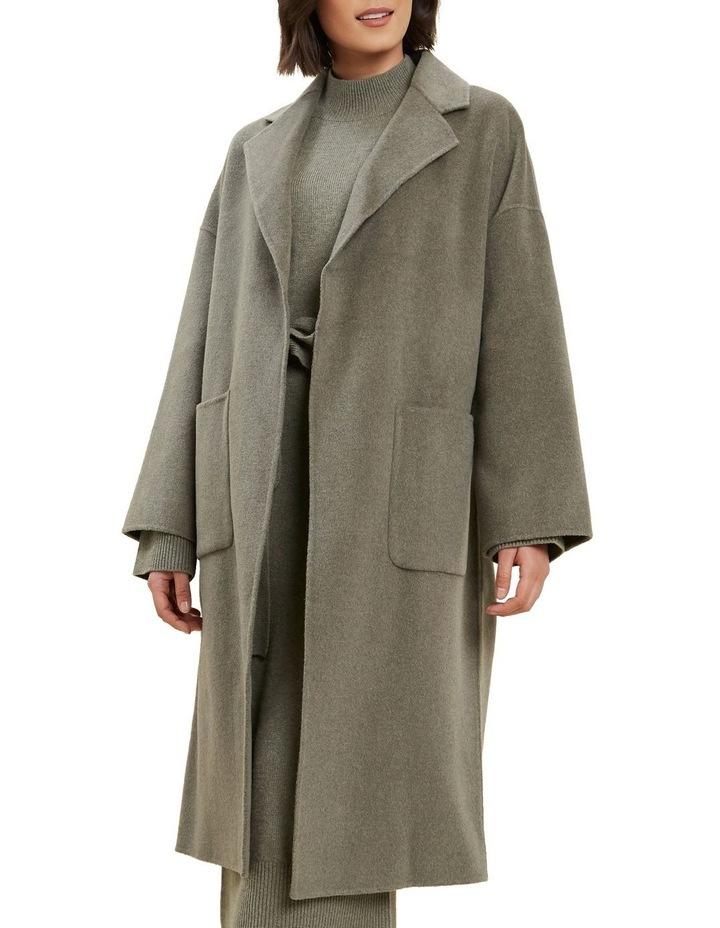 Wool Boyfriend Coat image 1