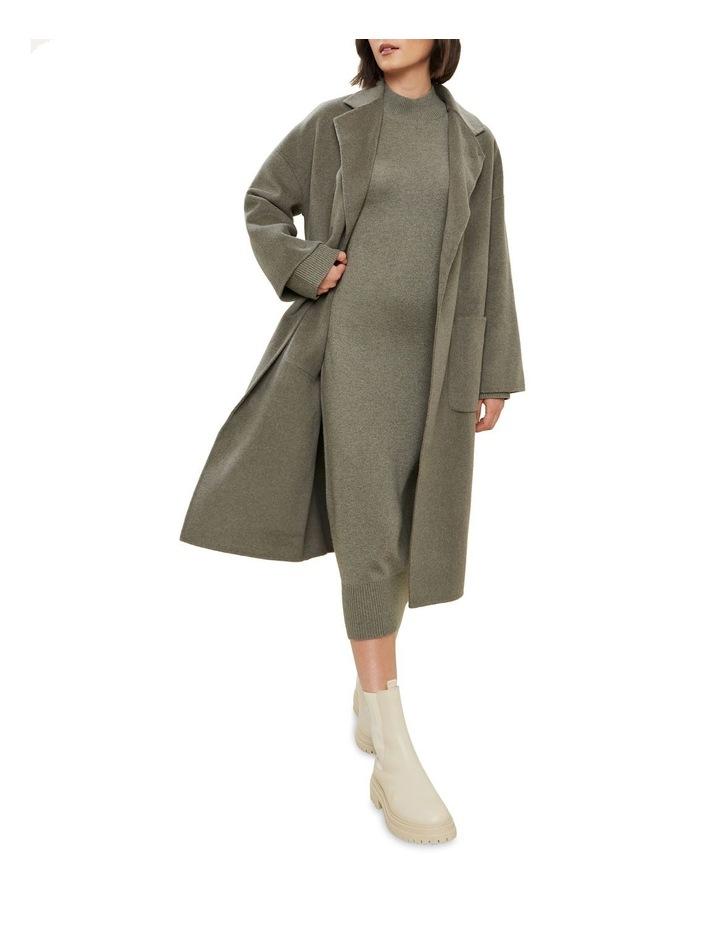 Wool Boyfriend Coat image 2