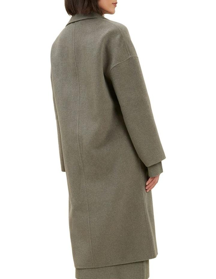 Wool Boyfriend Coat image 3