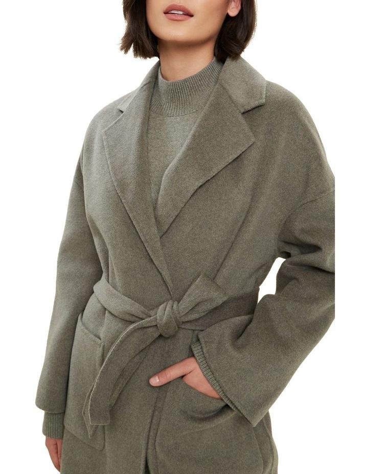 Wool Boyfriend Coat image 4
