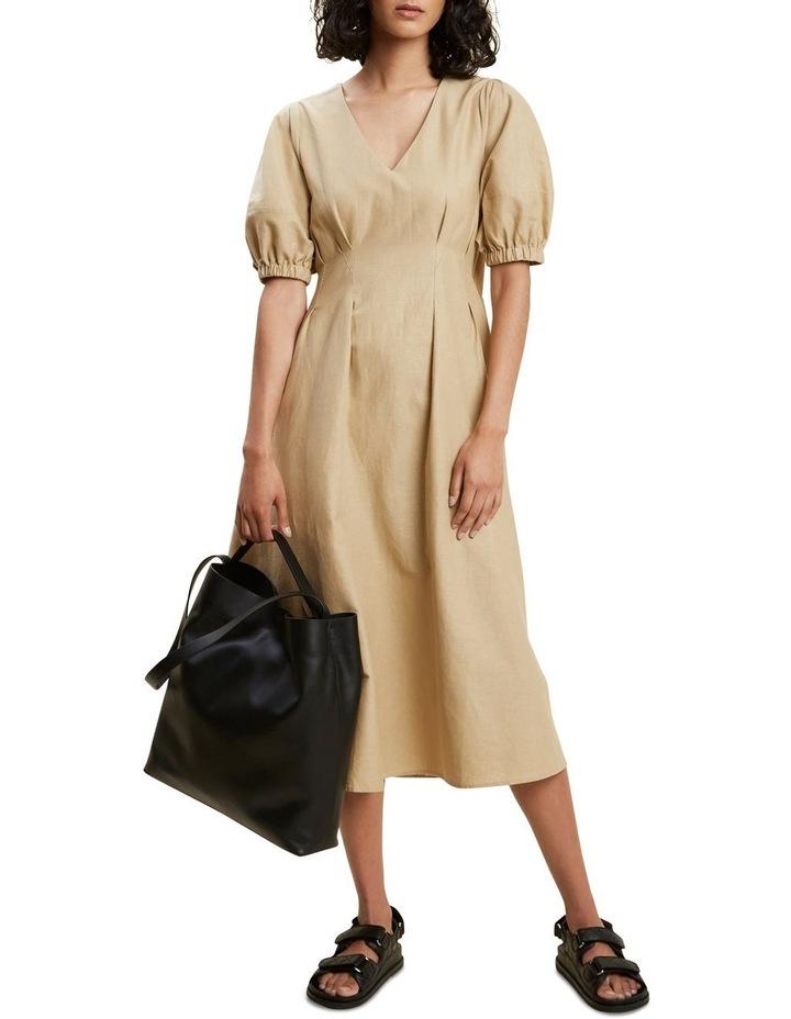 Tuck Waist Midi Dress image 2