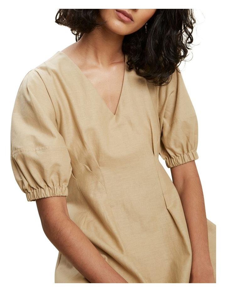Tuck Waist Midi Dress image 4