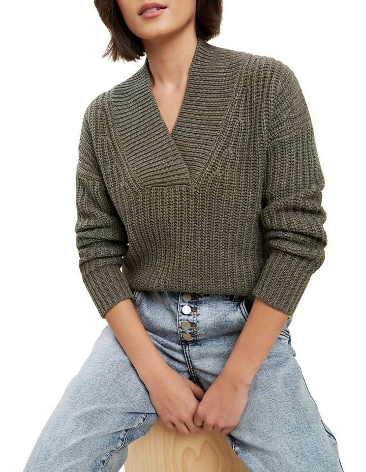Shawl Collar Sweater image 1