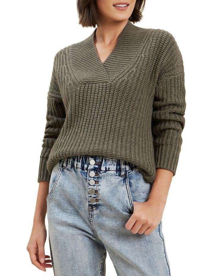 Shawl Collar Sweater image 4