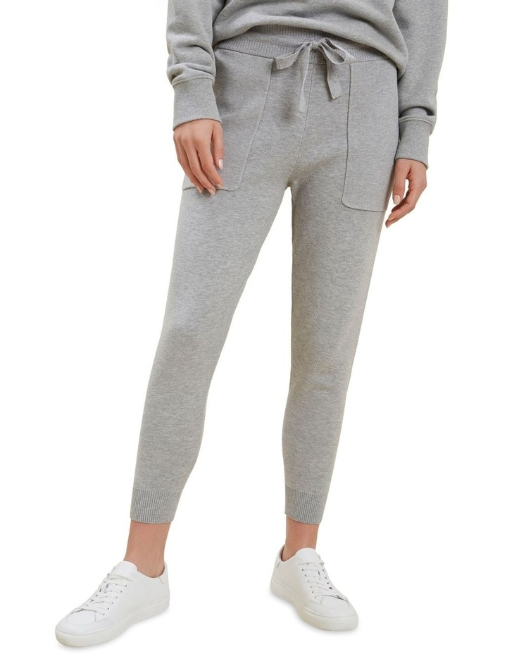 Knitted Marle Trackpants image 1
