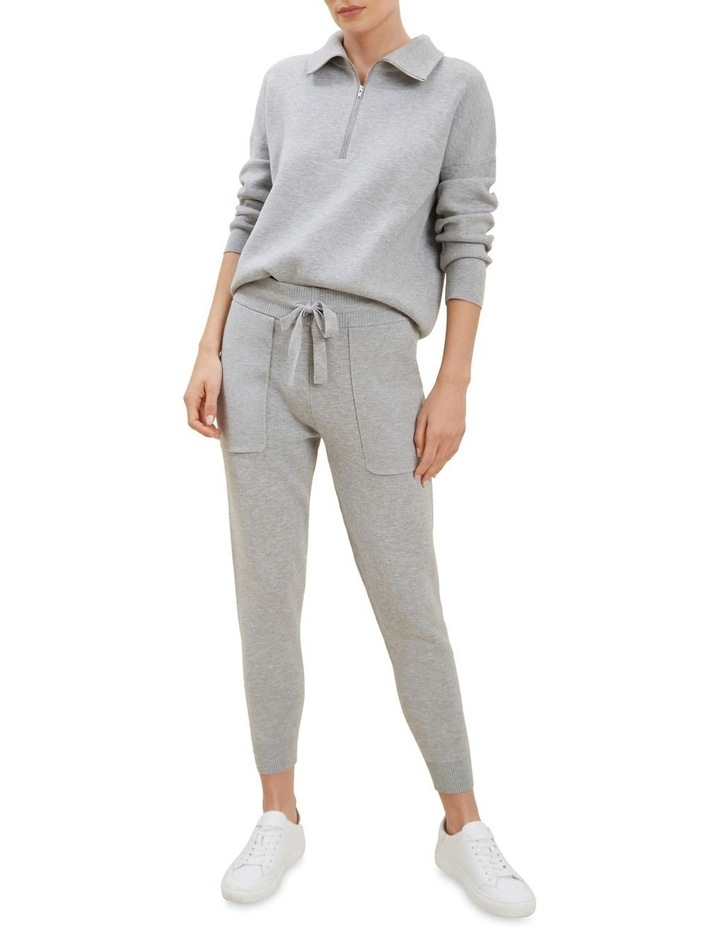 Knitted Marle Trackpants image 2