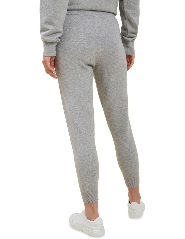 Knitted Marle Trackpants image 3