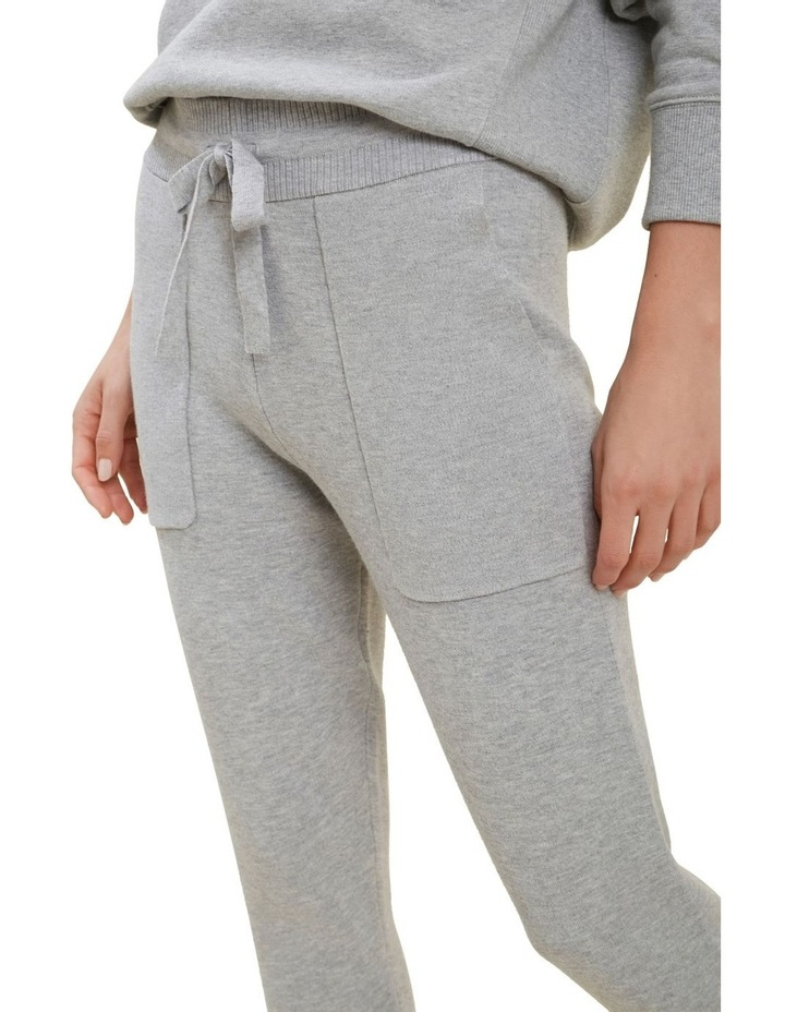 Knitted Marle Trackpants image 4