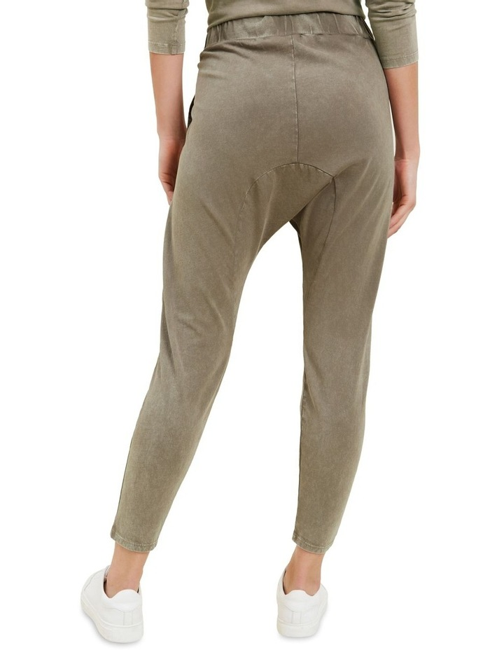 Vintage Wash Harem Pants image 3