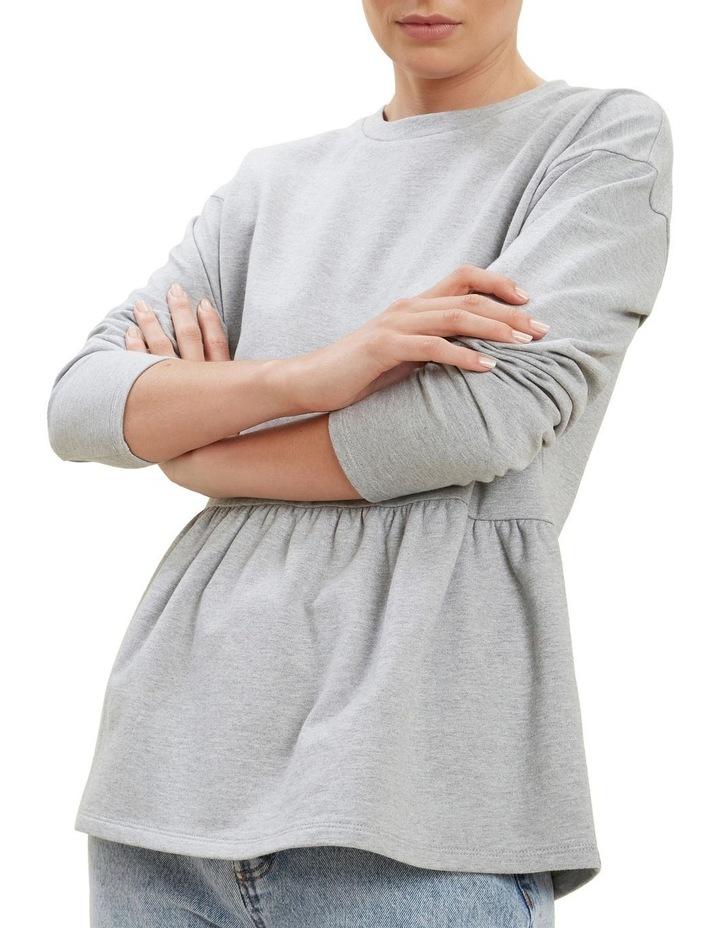Babydoll Peplum Sweater image 1