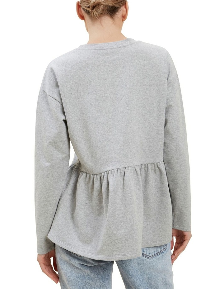 Babydoll Peplum Sweater image 3