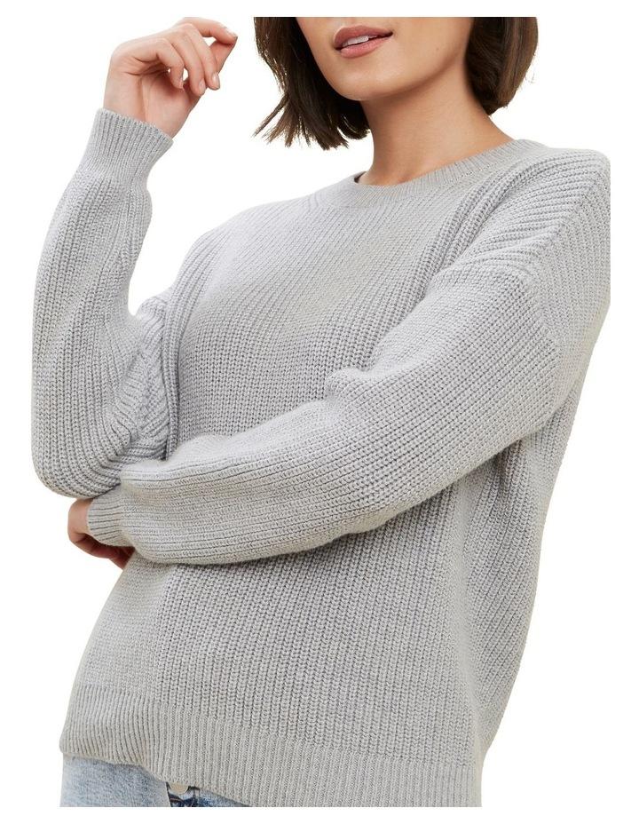 Fisherman Knit Sweater image 4