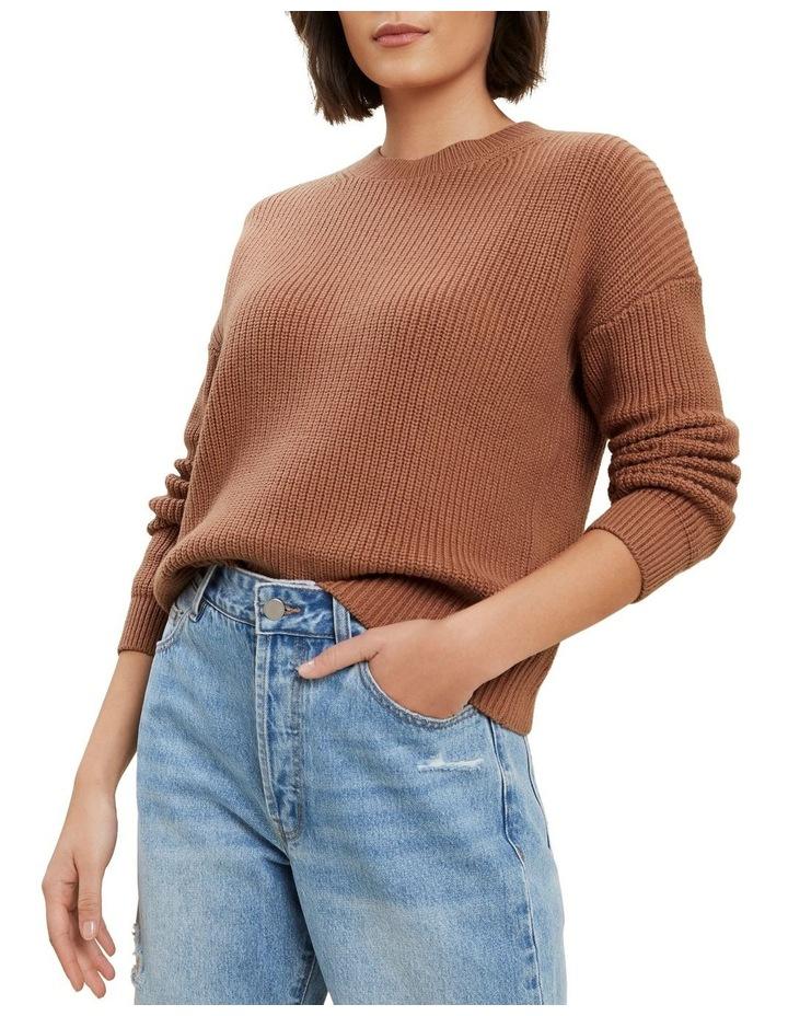 Fisherman Knit Sweater image 1