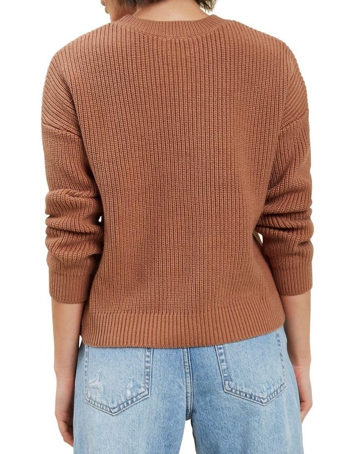 Fisherman Knit Sweater image 3