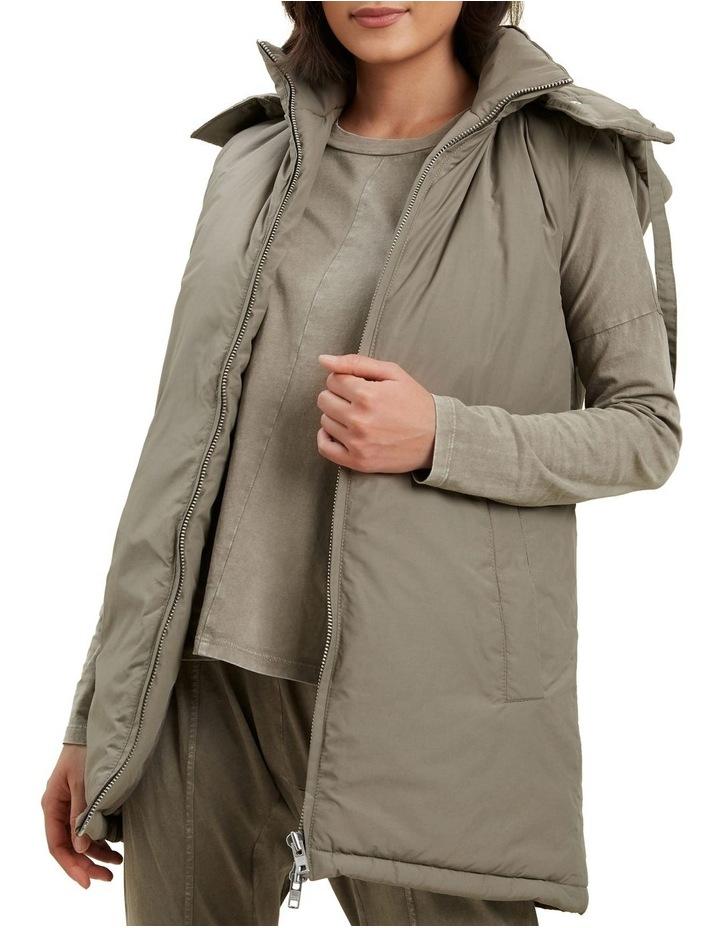Longline Hooded Vest image 1