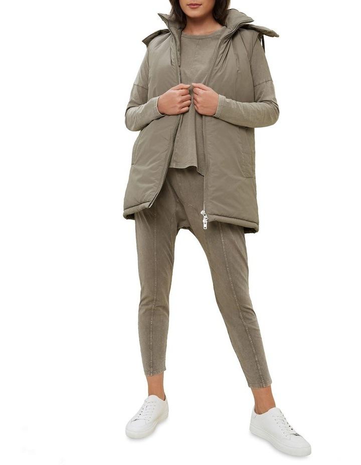 Longline Hooded Vest image 2