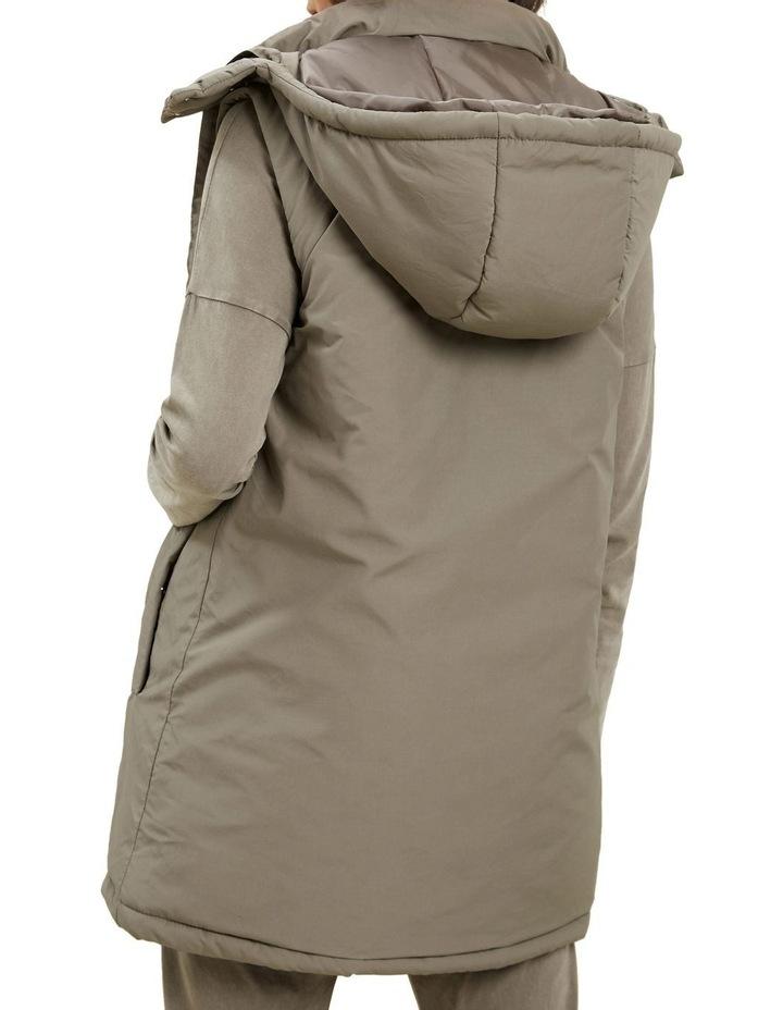Longline Hooded Vest image 3