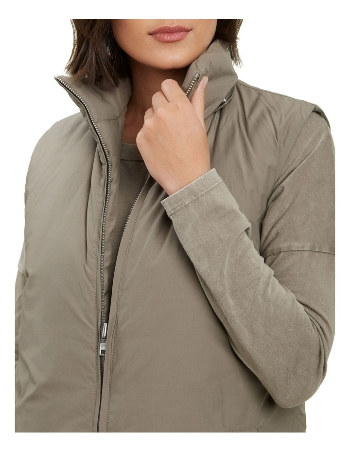 Longline Hooded Vest image 4